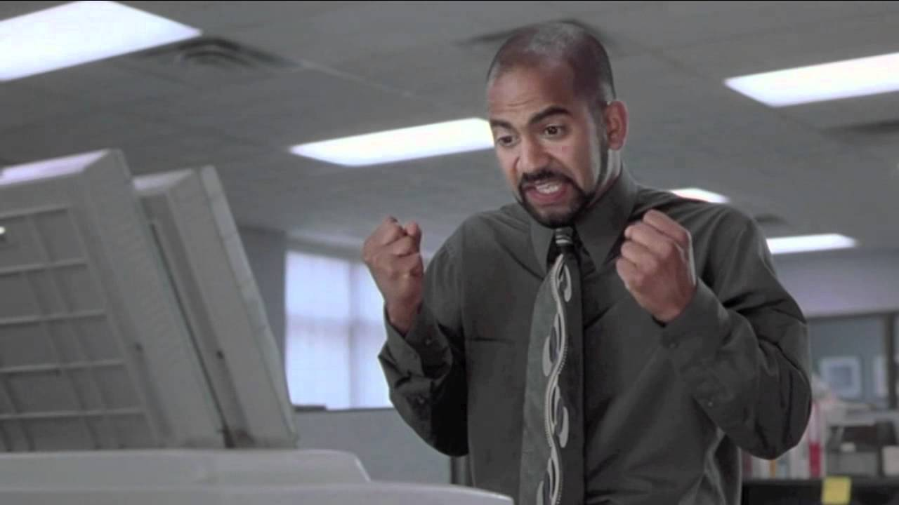 Samir from Office Space deals with otherworldly forces sapping control from his day-to-day interactions