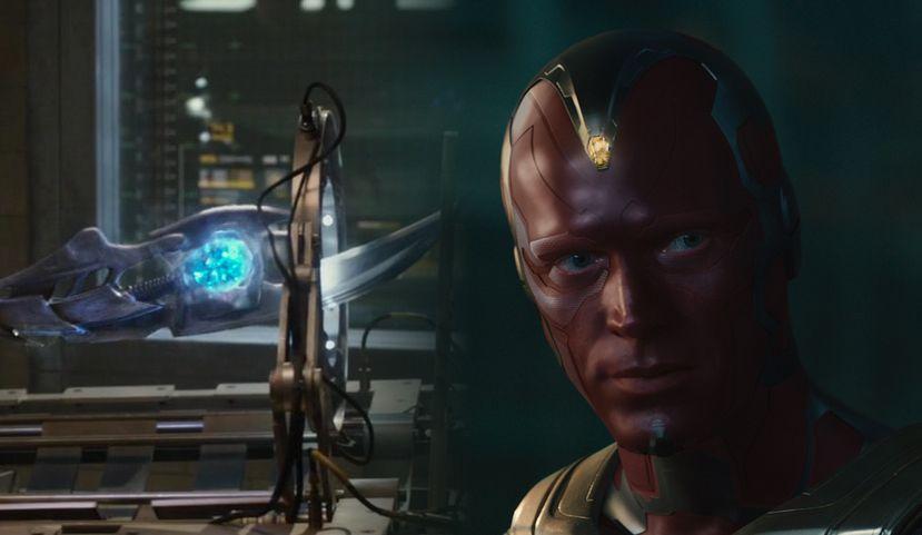 Loki's scepter and Vision   Marvel