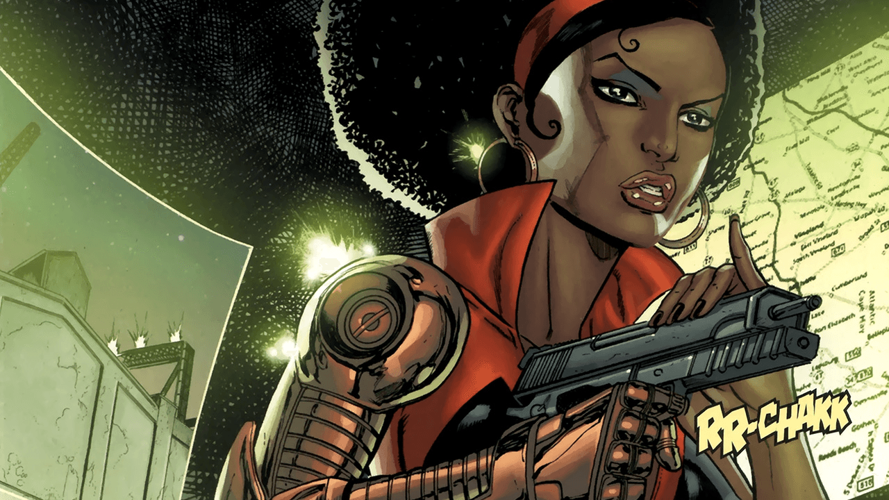 Misty Knight - Marvel Comics