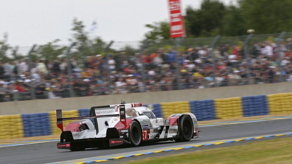 Audi R18 at Le Mans, 2015   Audi