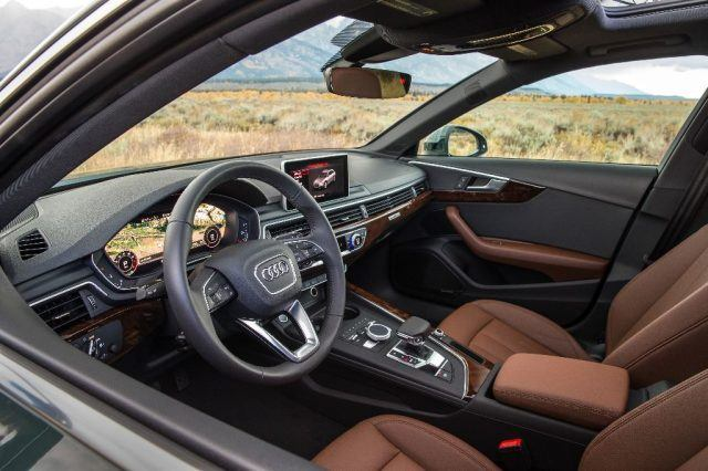 The 2017 Audi A4 Allroad interior