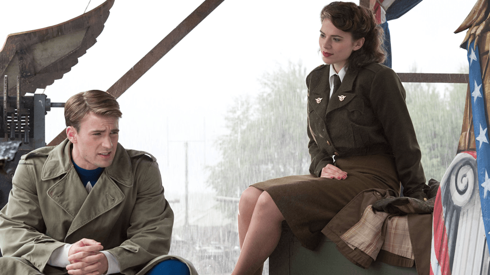 Steve Rogers and Peggy Carter