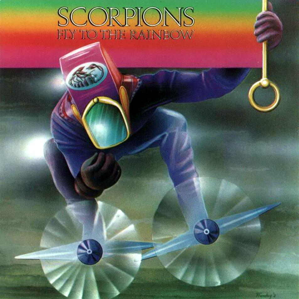 Album artwork for 'Fly to the Rainbow' by Scorpions