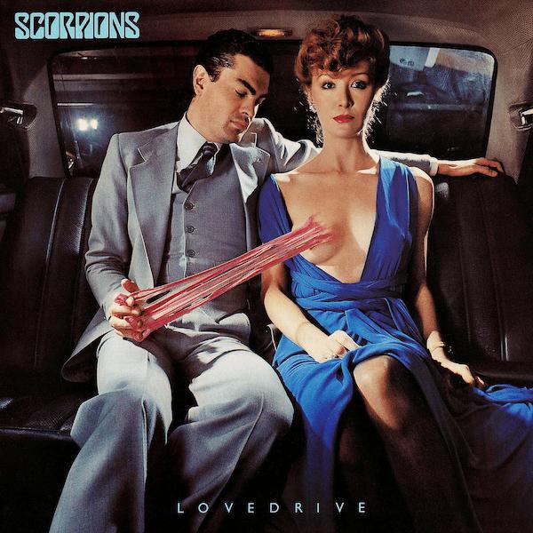 Album artwork for 'Lovedrive' by Scorpions   Mercury Records