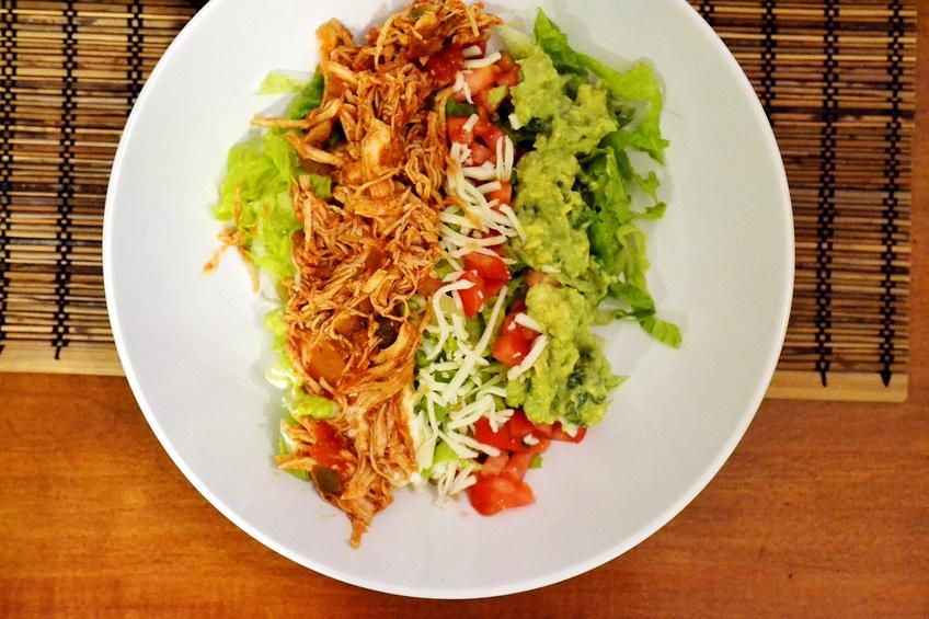 taco seasoning, salsa