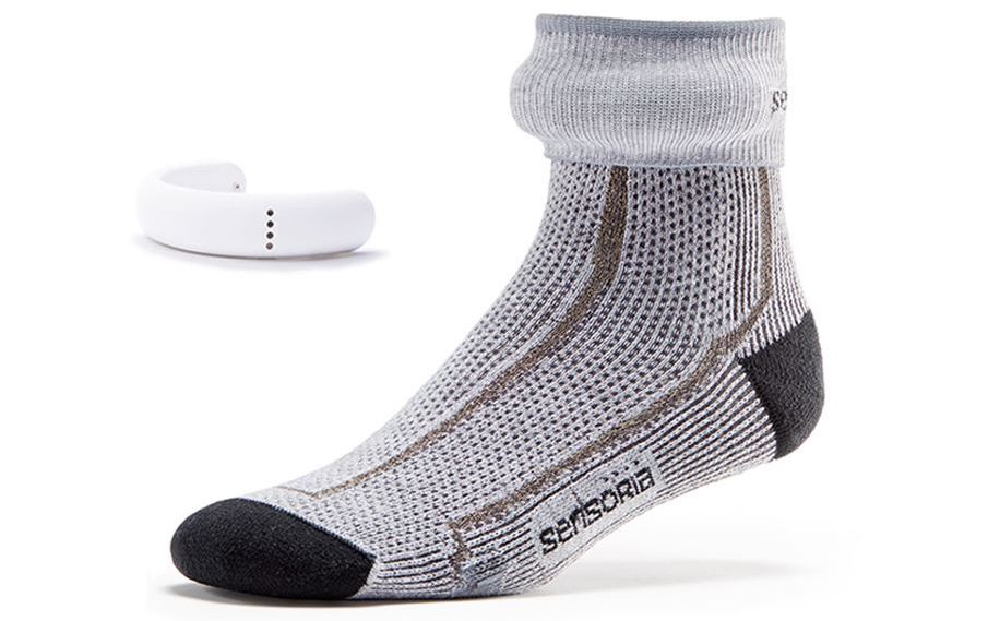 Tech-infused Sensoria Smart Socks