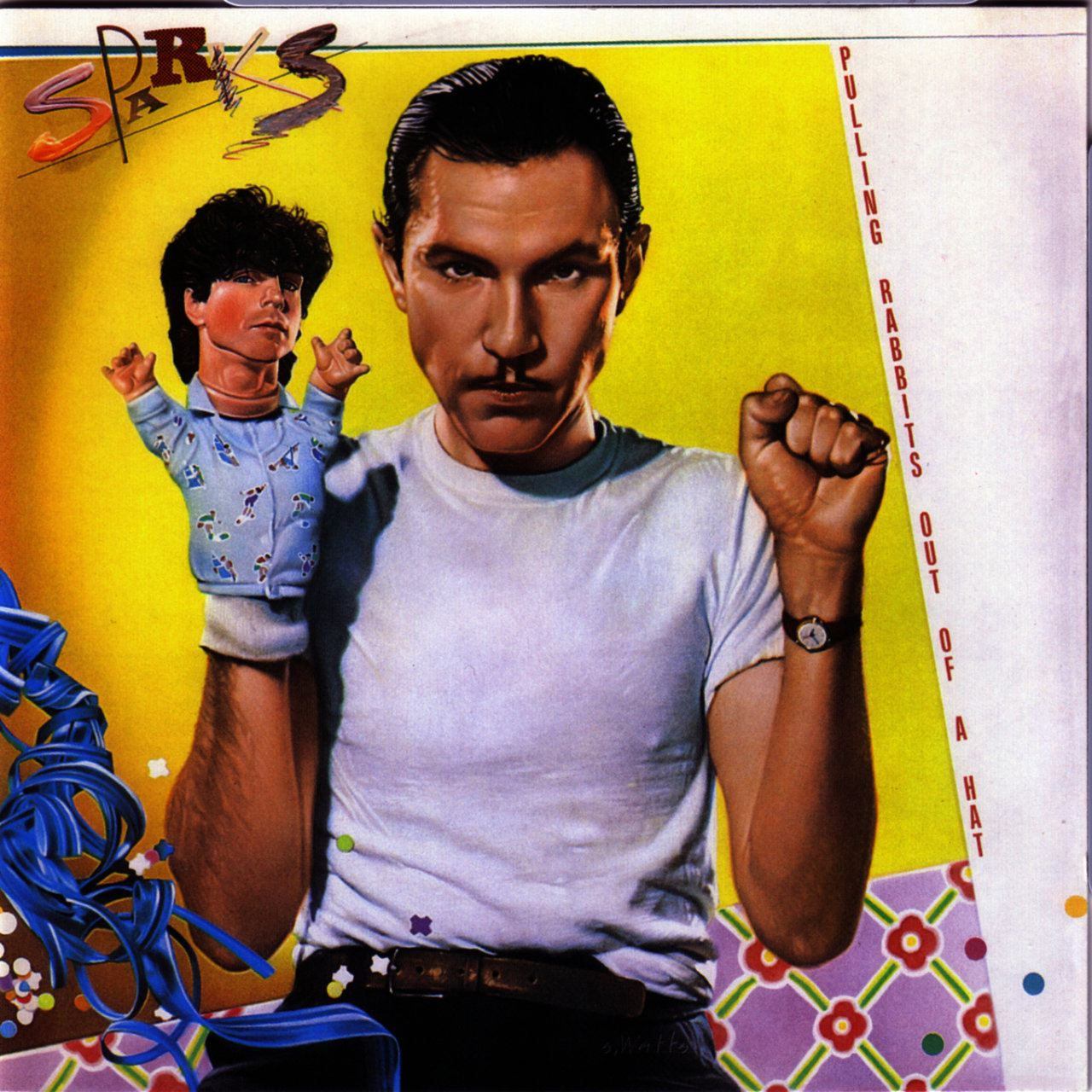 Album artwork for 'Pulling Rabbits Out of A Hat' by Sparks