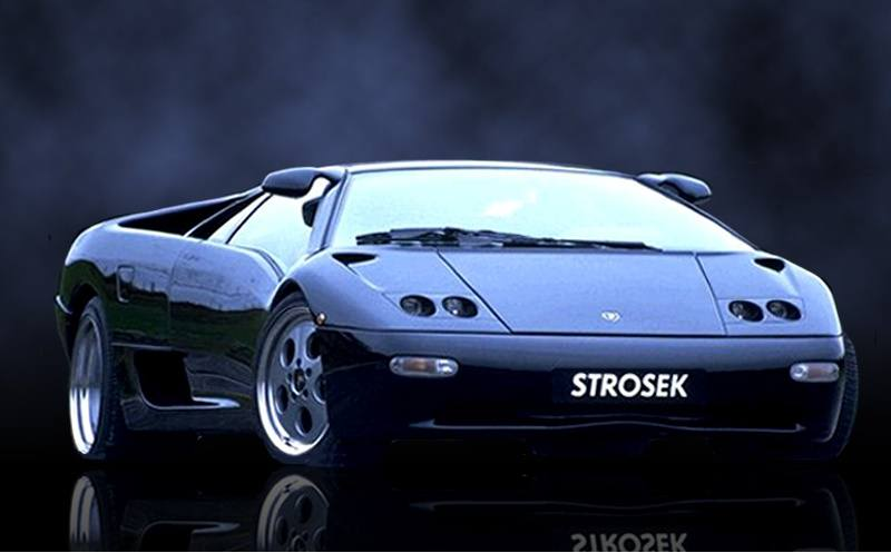 Lambo Strosek Diablo from 1993