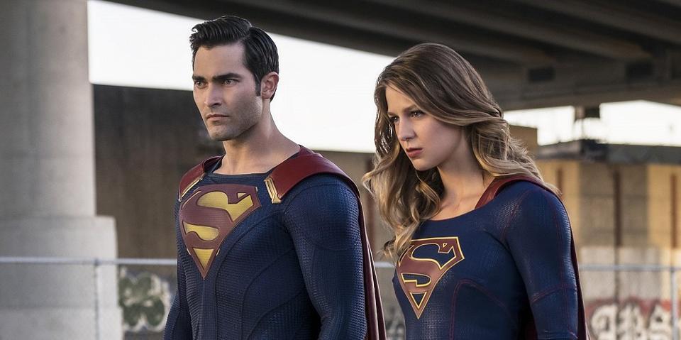 Superman on Season 2 of Supergirl