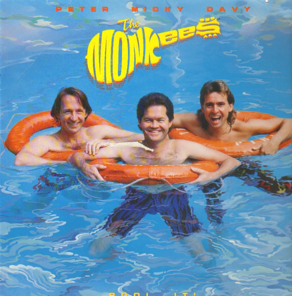 Alum artwork for 'Pool It!' by The Monkees