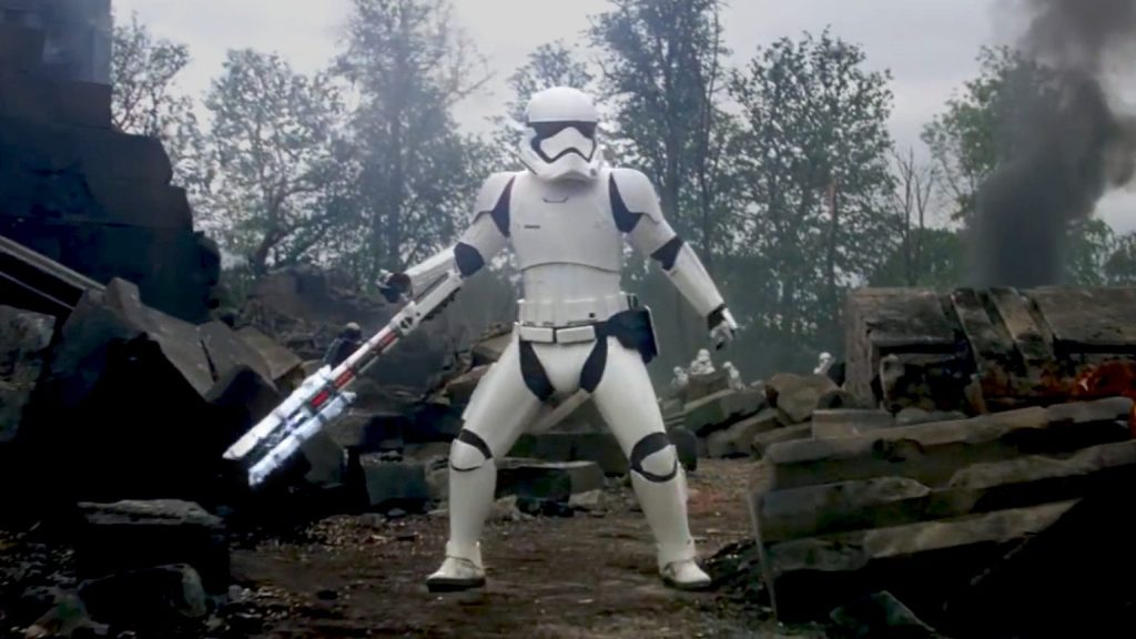 TR-8R Stormtrooper in Star Wars: The Force Awakens