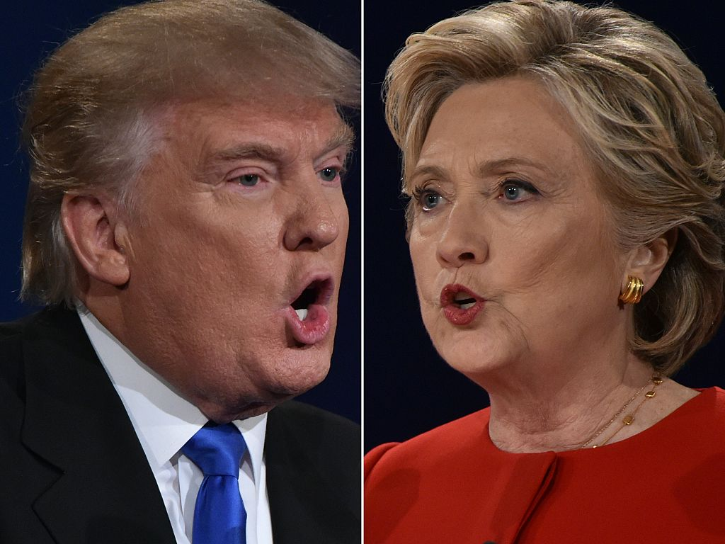 trump vs. clinton