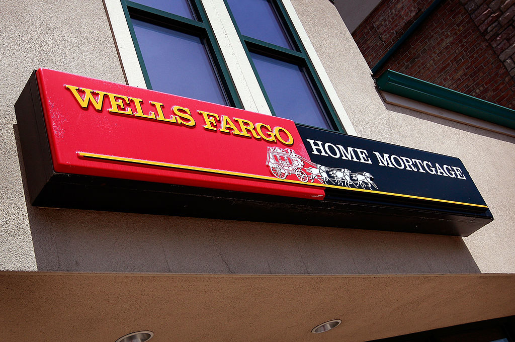wells fargo home mortgage sign