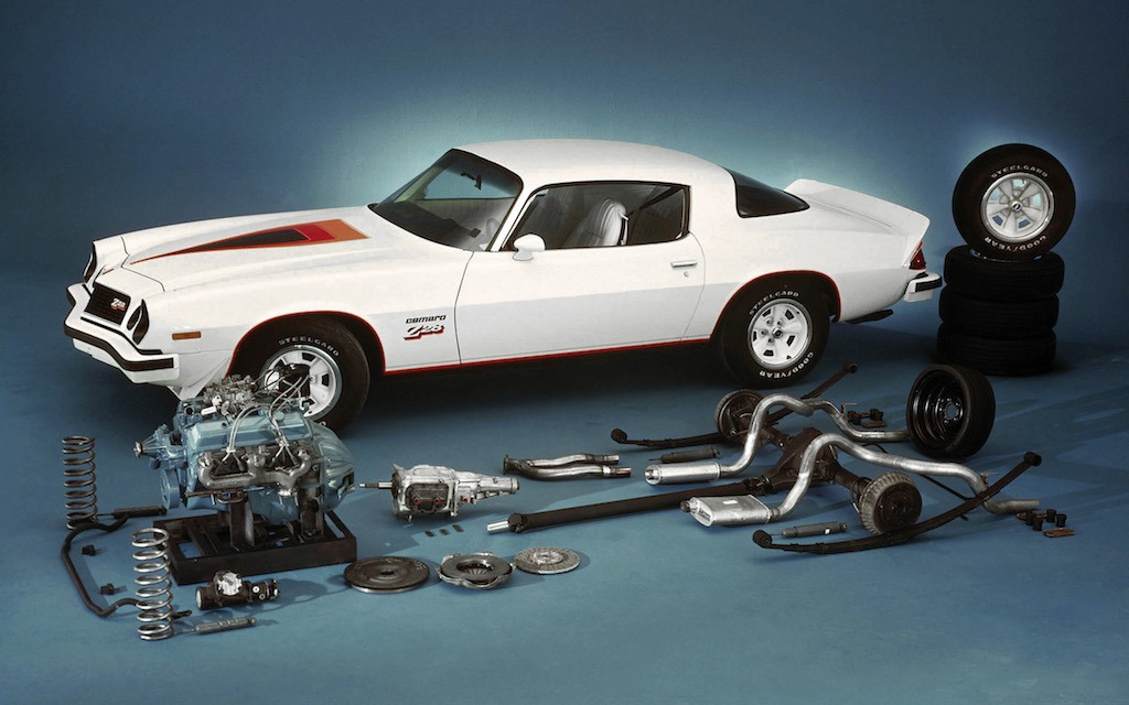 The 1977 Chevrolet Camaro Z28