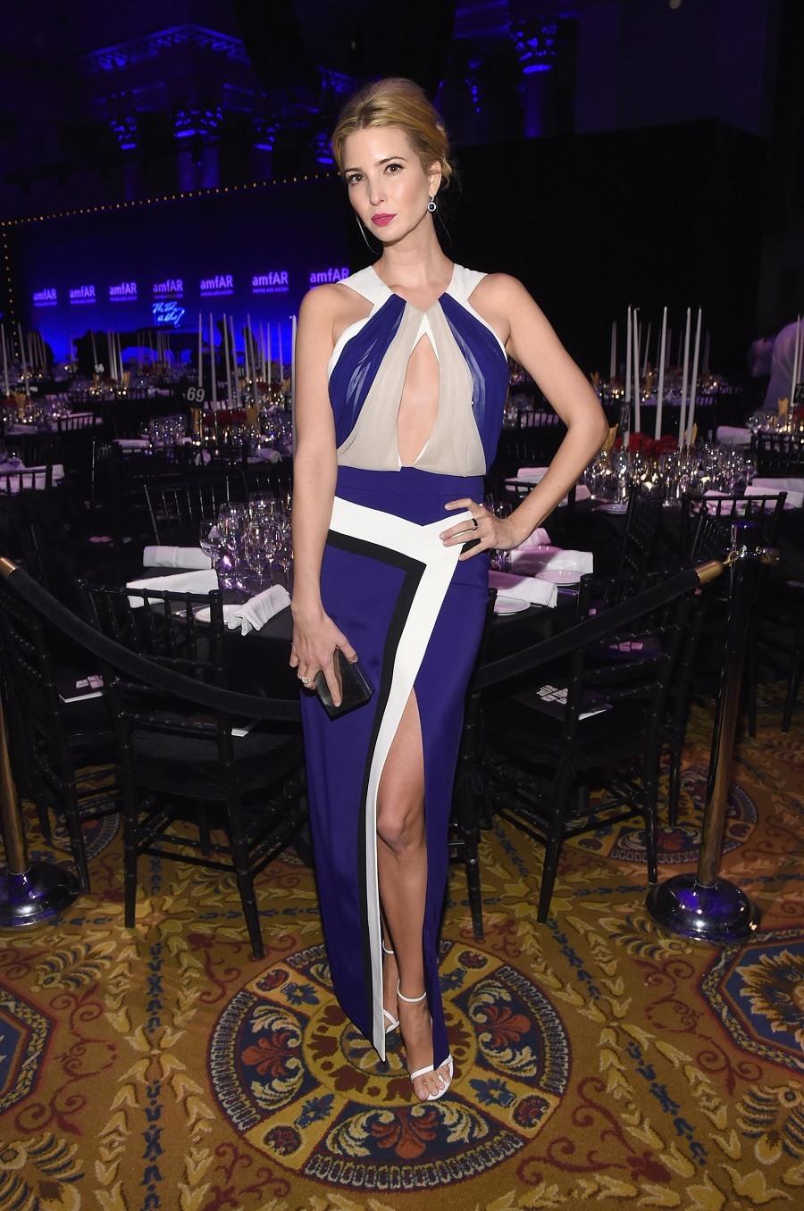 Ivanka Trump attends the 2015 amfAR New York Gala at Cipriani Wall Street