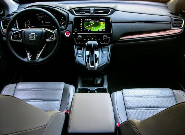 New Honda CR-V interior