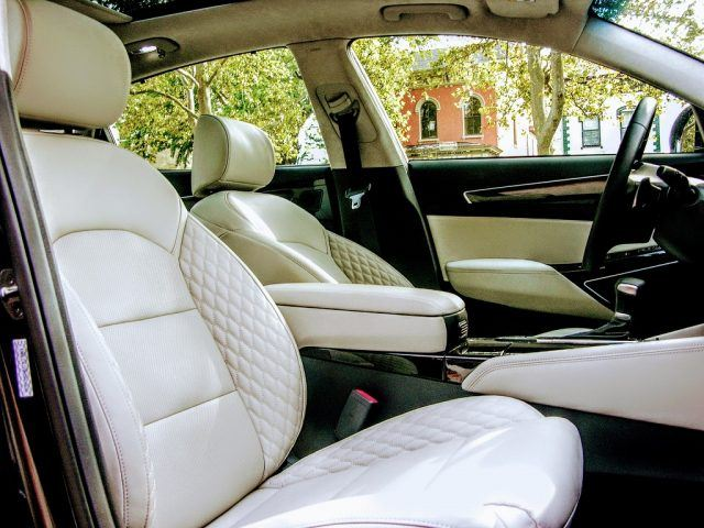 Nappa leather interior