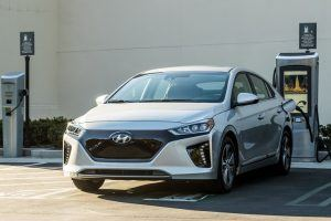 Hyundai Ioniq Electric Vehicle: 124 Miles With Its Eye on 200