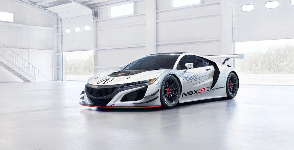 2017 Acura NSX GT3   Acura