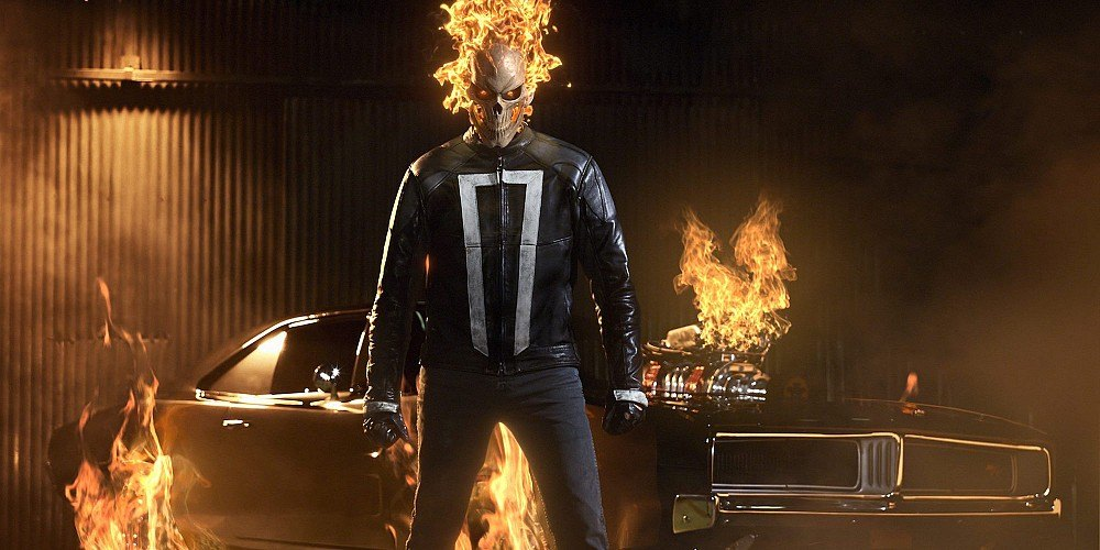 Ghost Rider on Agents of S.H.I.E.L.D. Season 4 | ABC