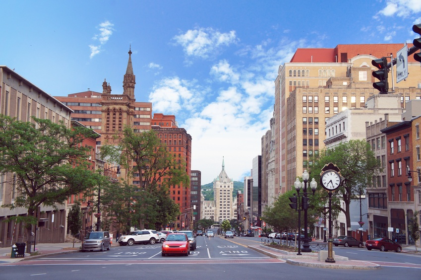 Albany, New York, state capital