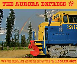 The Aurora Express Bed & Breakfast takes you back in time in old train cars   The Aurora Express via Facebook