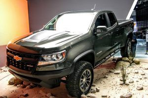 Chevy Answers the Call of the Wild With a Diesel-Powered Colorado ZR2