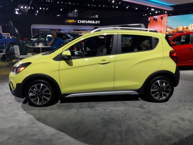 The 2017 Chevrolet Spark Activ Is a Pug With a Spiked Collar