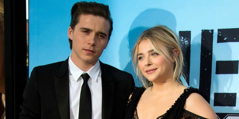 Brooklyn Beckham and Chloe Grace Moretz attend premiere of Neighbors 2