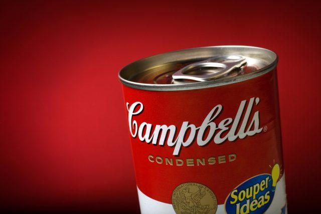 Campbell's Condensed Soup Can.