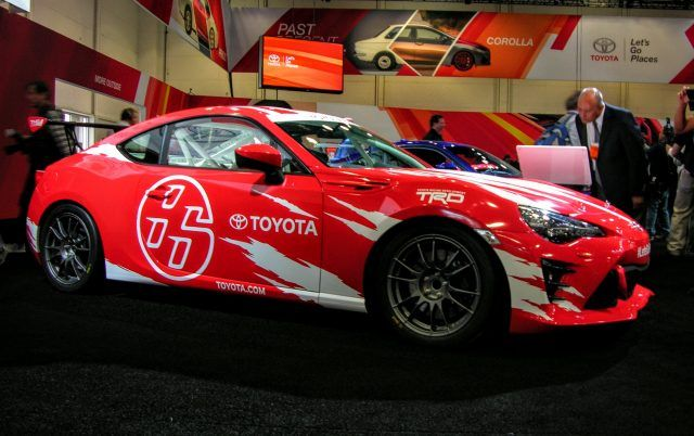Toyota race car