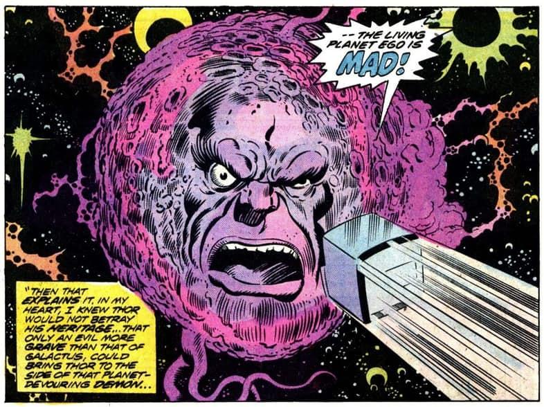 Ego the Living Planet | Marvel Comics