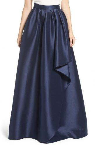 Eliza J Cascade Ball Skirt