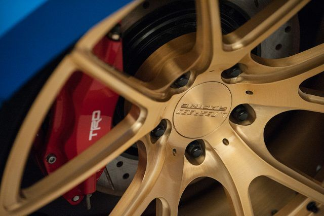 TRD brake calipers