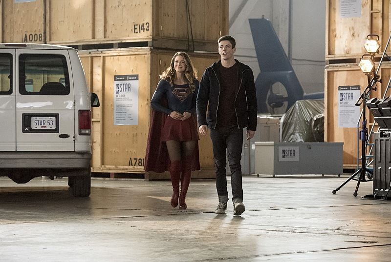 Supergirl on The Flash Season 3