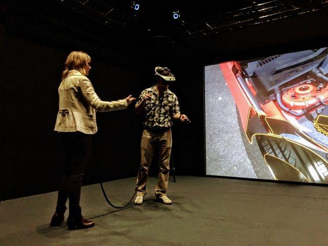 Ford's virtual reality lab