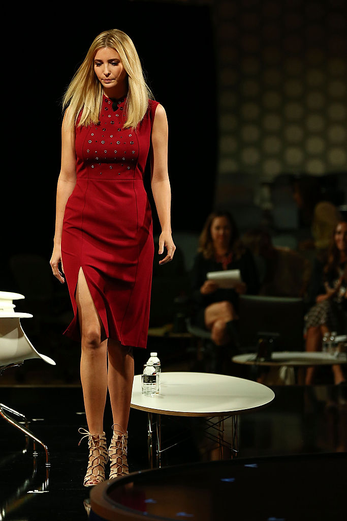 Ivanka Trump speaks onstage at the Fortune Most Powerful Women Summit 2016