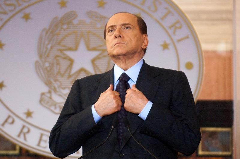 Italian Prime Minister Silvio Berlusconi attends a summit