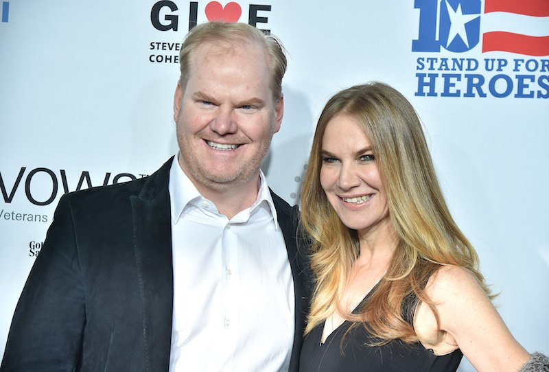 Jim Gaffigan and Jeannie Gaffigan | Theo Wargo/Getty Images