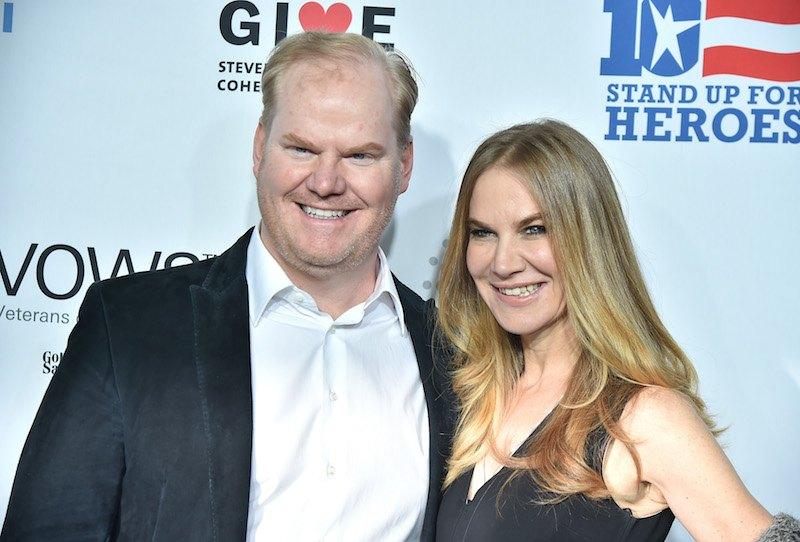 Jim Gaffigan and Jeannie Gaffigan | Theo Wargo/Getty Images