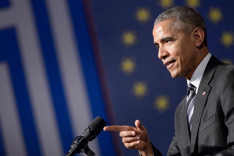 President Barack Obama delivers a post-election speech