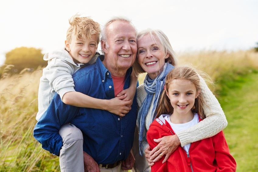 Grandparents With Children