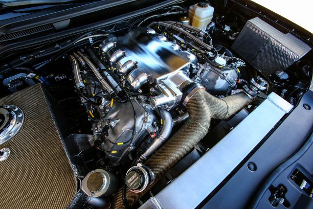 Twin-turbo V8
