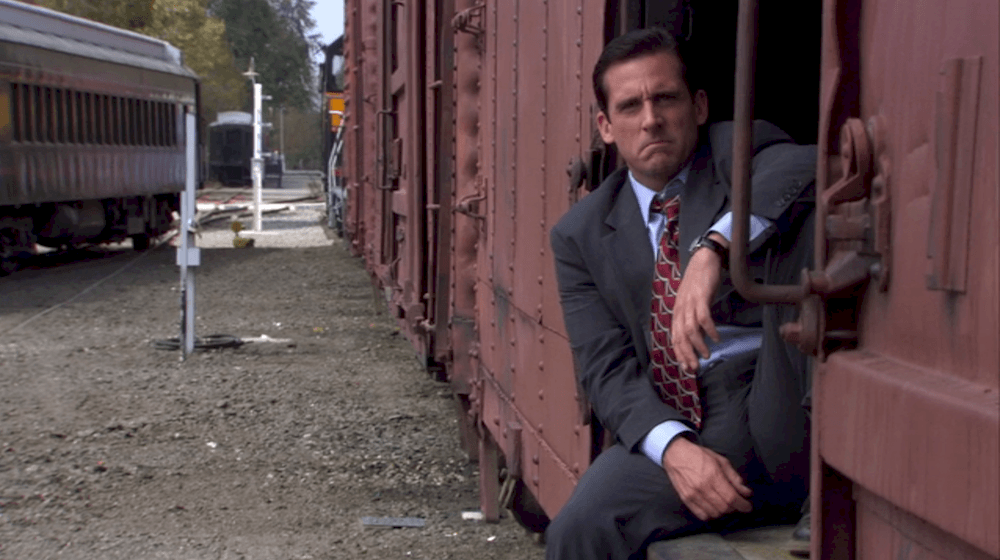 Michael Scott from The Office was never scared of quitting his job, but his methods were questionable