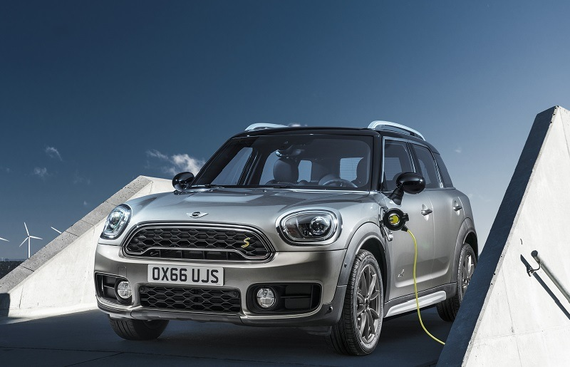 2017 Mini Countryman PHEV charging