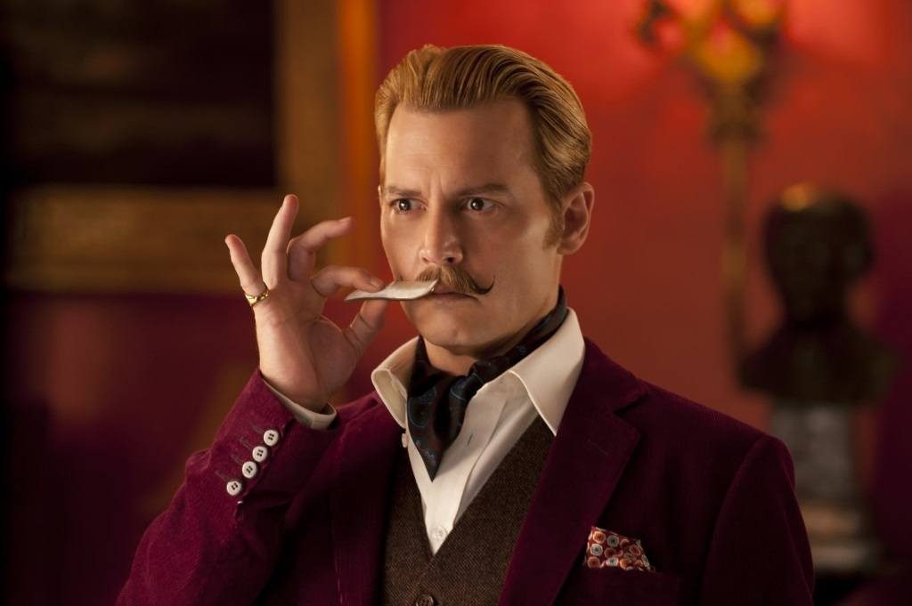 Johnny Depp in Mortdecai