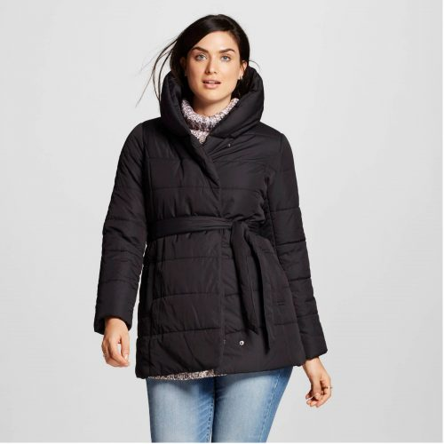 Mossimo Puffer wrap jacket