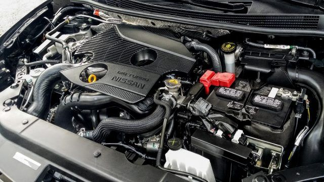 1.6-liter direct injected turbo engine