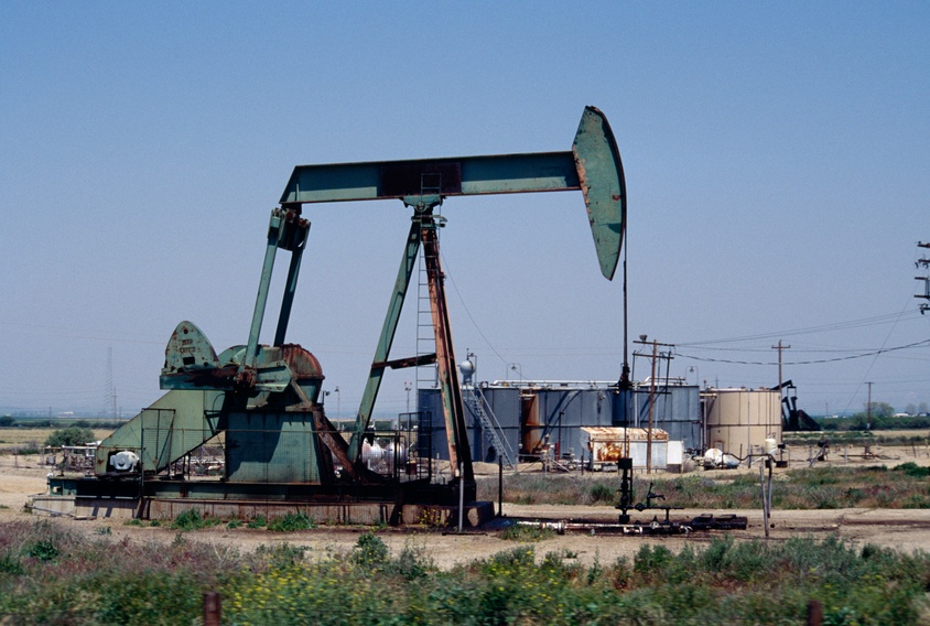 Oil pump at south end of California's Central Valley