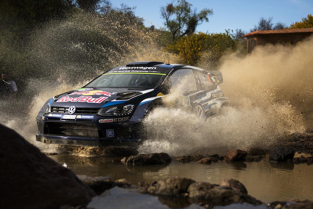 Sebastien Ogier in the FIA World Rally Championship 2015 in Leon, Mexico on March 5, 2015 | Volkswagen Motorsport/Red Bull Content Pool